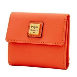 DOONEY & BOURKE Emerson Coral Small Flap Wallet